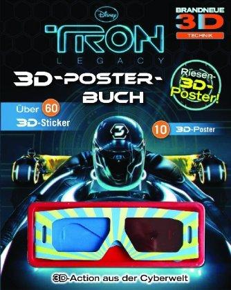 Tron Legacy 3D Posterbuch