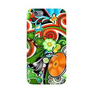 HomeSoGood Colorful Music Multicolor 3D Mobile Case For iPhone 6 (Back Cover)