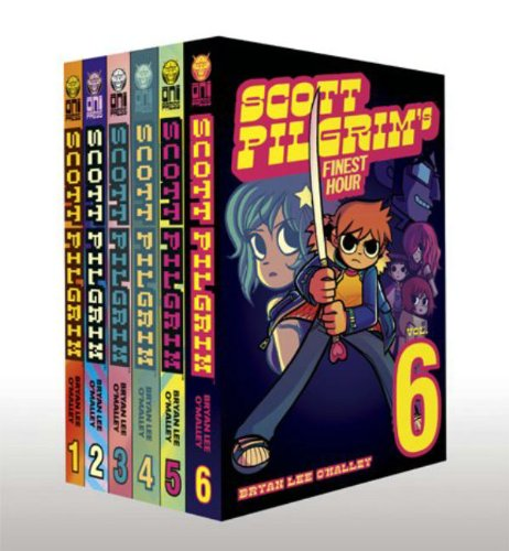 Scott Pilgrim Bundle Volumes 1-6 [O\'Malley, Bryan Lee] (Tapa Blanda)