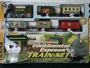 Continental Train Set (Battery Operated)