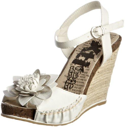 XTI 25270 XTI200750116 - Zapatos para mujer, color blanco, talla 40.5