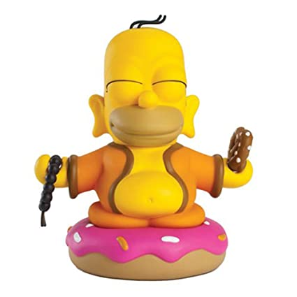 Kidrobot The Simpsons Homer Bouddha Mini Figure