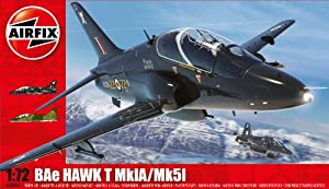 Airfix A03085 BAe Hawk T1 1:72 Scale Military Aircraft Series 3 Model Kit by Hornby