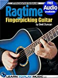img - for Ragtime Fingerstyle Guitar Lessons: Teach Yourself How to Play Guitar (Free Audio Available) (Progressive) book / textbook / text book
