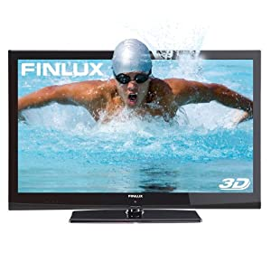 Finlux 42F7020-D 42 Inch Widescreen Full HD 1080p LED 3D TV with 8x 3D Glasses and Freeview