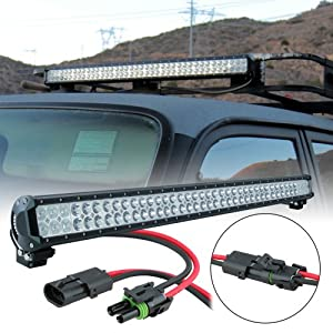 """LAMPHUS CRUIZER 36"""" 234W CREE LED Off Road Truck Vehicles Lightbar (OTHER SIZES AVAILABLE) - Flood/Spot Combo"""