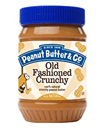 Peanut Butter & Co. Peanut Butter, Old Fashioned Crunchy, 16 Ounce (Pack of 6)