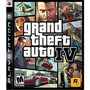 New - PS3 GRAND THEFT AUTO IV (GH) - 37011