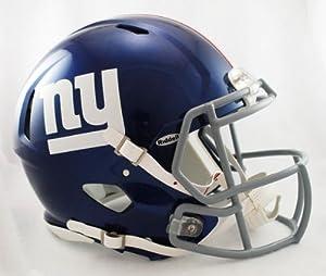 NFL New York Giants Speed Authentic Football Helmet by Riddell