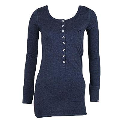 Yakuza Premium Damen Longshirt 1748 navy