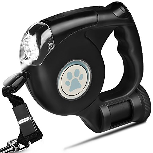Retractable LED Light Dog Leash