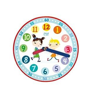 Janod - Tic-Tac, reloj de juguete (08502940) por Janod