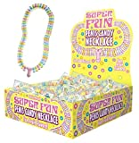 Candyprints, Super Fun Penis Candy Necklace, 24-Count Package