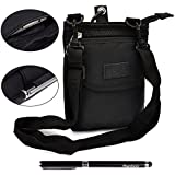 Ranboo Multi-purpose Outdoor Sports Travel Leisure Small Shoulder Bag/ Waist Pack/ Wallet /Smartphone Pouch Case with Free 2 in 1 Stylus Pen