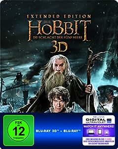 Der Hobbit Die Schlacht Der Fünf Heere Extended Edition Dvd