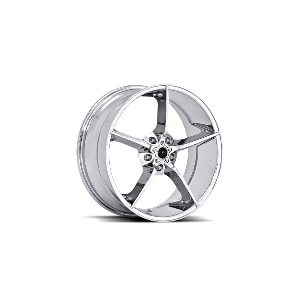 Ruff Racing R948 22x9 22x10 BMW Mercedes Benz Infiniti Nissan Lexus Rims Chrome Wheels 4pc 1set
