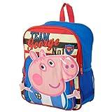 bebamour Kids Bolsa Peppa Pig Ni�os Mochila Infantil Bolso de escuela azul azul