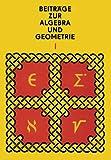 img - for Beitr ge zur Algebra und Geometrie 1 (German Edition) book / textbook / text book