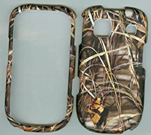 Camo Duck Grass ZTE Z431 At&t Rubberized Snap on Hard Case Cover Phone