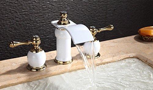 cac-solido-ottone-vernice-bianco-a-tre-pezzi-bacino-continentale-bacino-rubinetto-rubinetto-di-misce
