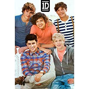 One Direction Bench Music Poster