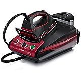 Bosch Sensixx DS37 EditionRosso - Centro de planchado, 3100 W, presión 5.5 bares, golpe de vapor 270 g, color rojo