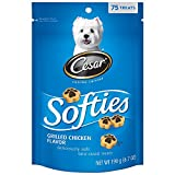 CESAR SOFTIES Grilled Chicken Flavor Dog Treats (Pack of Six 6.7-Ounce Pouches)