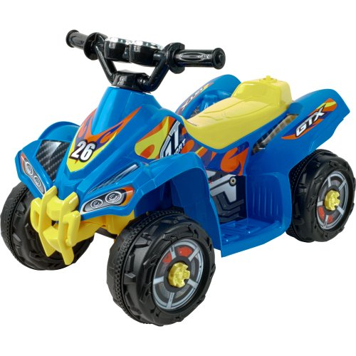 Lil' Rider Battery-Powered Blue Bandit Gt Sport Atv, Blue front-165731