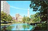 SNET Building Lagooon Bushnell Park Hartford CT postcard 1959