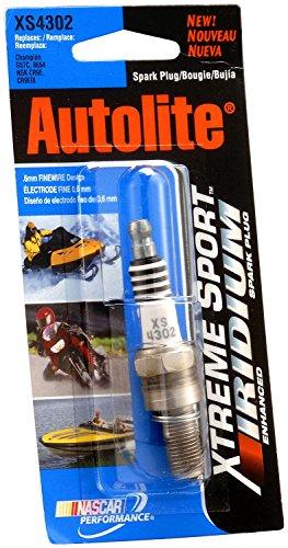 Autolite XS4302DP Xtreme Sport Iridium Powersports Spark Plug (Honda Cbr600rr Parts compare prices)