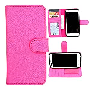 For HTC Desire 825 - DooDa Quality PU Leather Flip Wallet Case Cover With Magnetic Closure, Card & Cash Pockets