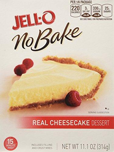 Jell-O No Bake CheeseCake pkg. of 2 - 11.1 oz