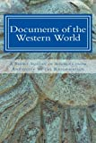 img - for Documents of the Western World: A Short Survey of Sources from Antiquity to the Reformation book / textbook / text book