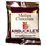 Arbuckle Coffee Molten Chocolate flavored coffee packets make a perfect pot of coffee every time from 100 premium Arabica coffee sold in a 10 pack carton