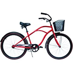 Buy Airwalk Little Wahine Cruiser Bicycle with Front Basket by Airwalk