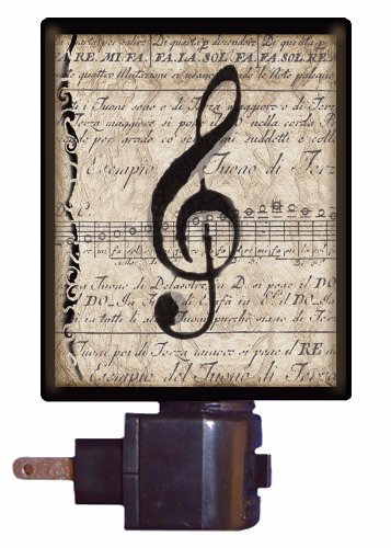 Musical Notes Night Light