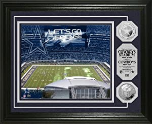 NFL Dallas Cowboys Stadium Silver Coin Photo Mint by Highland Mint