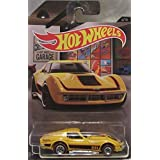 Hot Wheels Garage CUSTOM 69 CORVETTE Real Riders Rubber Wheels 1:64 Scale Collectible Die Cast Model Car 4/10 !!!