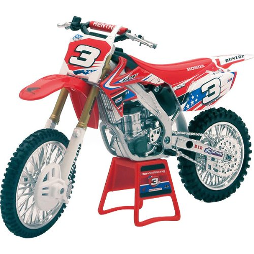 New Ray Andrew Short '10 Honda Replica Motorcycle Toy - 1:12 Scale