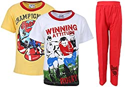 ETEENZ FASHION TSHIRT WITH TRACK PANT PK3 HS2