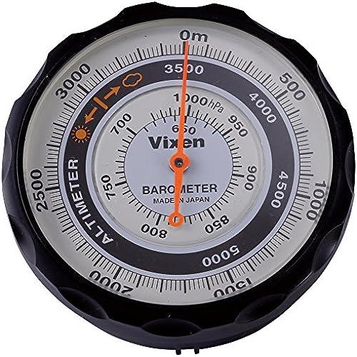 Vixen(빅슨) 고도계 AL 아날로그 표시 기압계 부착 블랙 46811