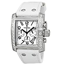 buy Tw Steel Goliath 39 Mm White Dial Chronograph Unisex Watch Tw118W