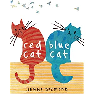 Jenni Desmond, Red Cat, Blue Cat, at amazon