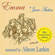 Emma (       UNABRIDGED) by Jane Austen Narrated by Alison Larkin