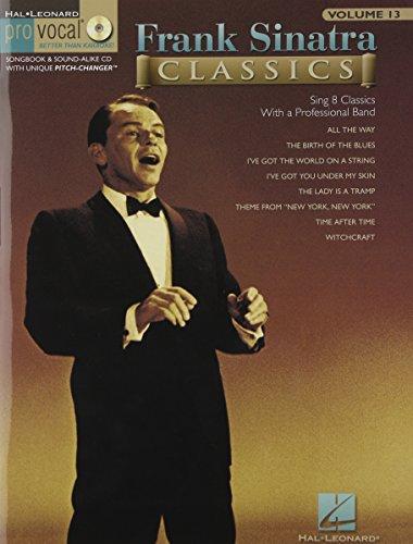 フランク・シナトラ・クラシックス: Pro Vocal Men's Edition Vol. 61(CD付)/ハル・レナード社/ピアノ/ヴォーカル/ギター