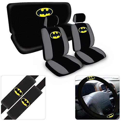 BDK Universal Fit 8-Piece Warner Brothers Batman Auto Carpet Mat Set at Gotham City Store