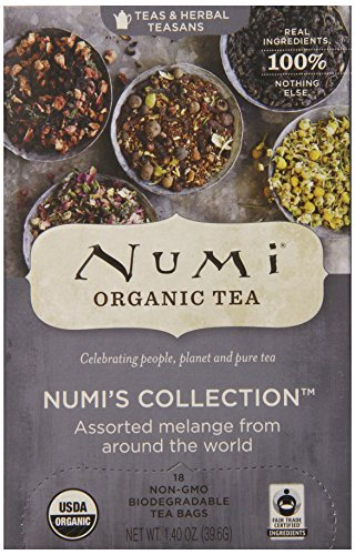 Numi Organic Tea  Variety Pack - Numi's Collection, Assorted Full Leaf Tea and Teasan, 18 Count Tea Bags (Mixed Tea Herbs compare prices)
