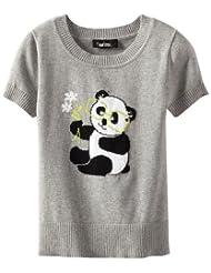 Amy Byer Girls Panda Sweater