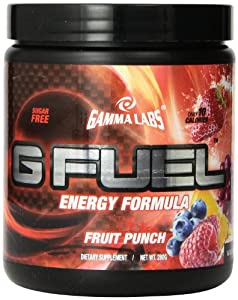 Gamma Labs G Fuel Dietary Supplement, Fruit Punch, 280 Gram