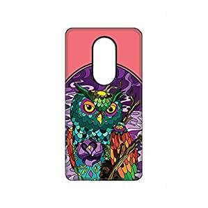 Vibhar printed case back cover for Xiaomi RedMi Note 3 Owl